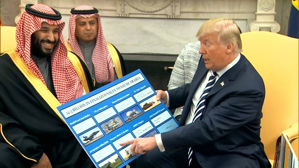 Trump Supplies the Weapons for War Crimes in Yemen