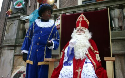 """Black Pete Was Influenced by the Blackface Tradition of the 19th Century"""