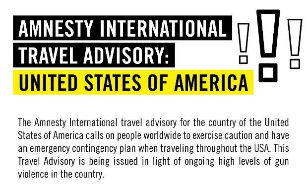 Amnesty International Is Also Holding a Mirror Up to the US