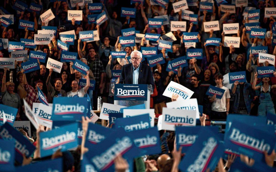 Sanders geeft verlangen naar verandering de helderste stem